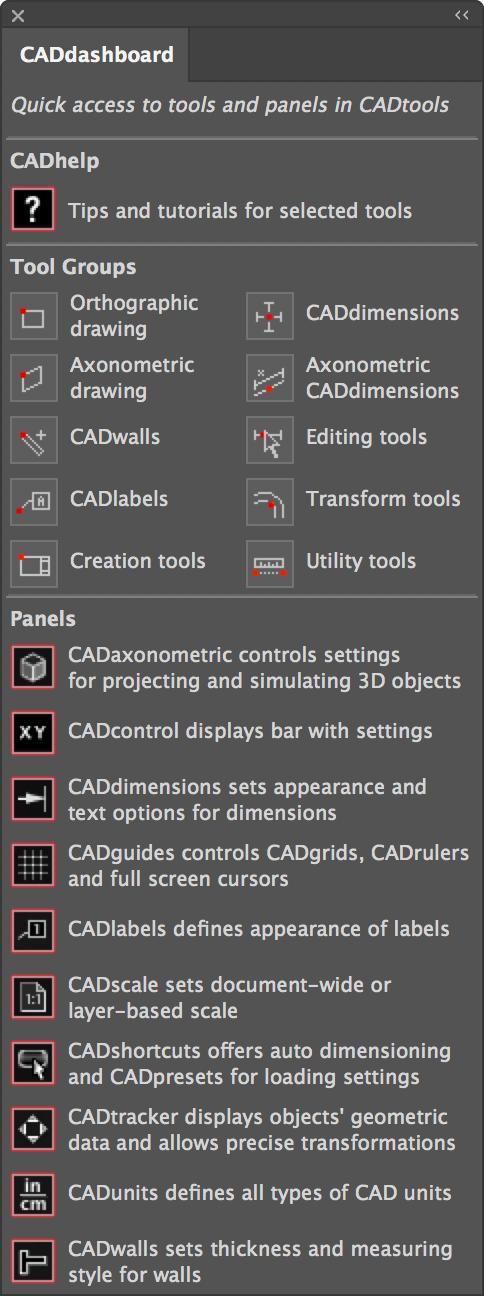 cad tools illustrator cc 2018